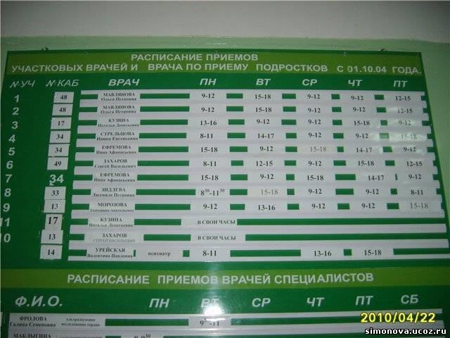 расписание работы зубного в раменском районе в совхозе